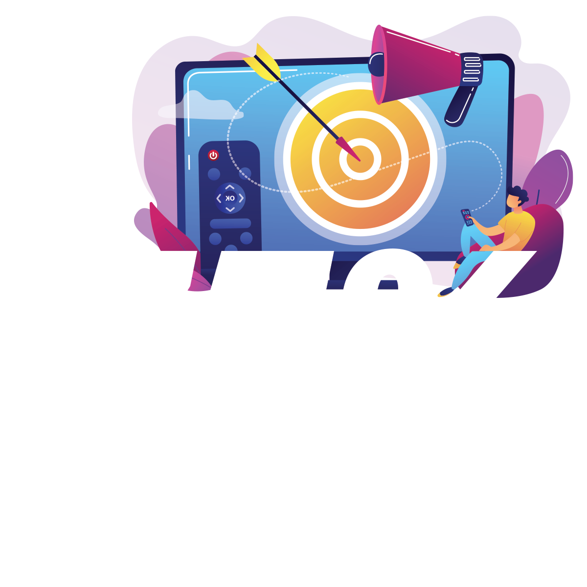 75% of homes have a smart tv connected to the internet.
